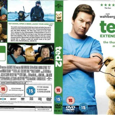 Mark Wahlberg Autograph Ted DVD Cover