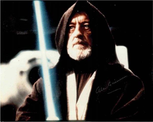 Alec Guinness Autograph Obi-Wan Kenobi Star Wars 8×10