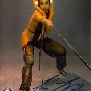 Femi Taylor Autograph Star Wars Return of the Jedi Oola