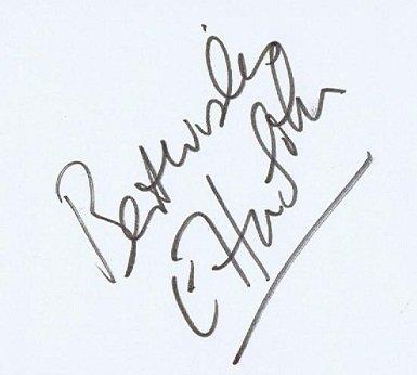 Elton John Autographs