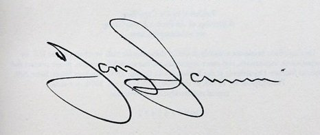tony iommi autograph black sabbath book