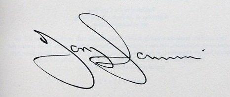 tony iommi autographs black sabbath book