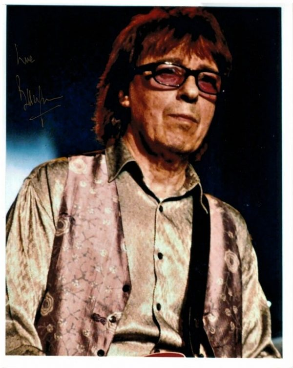 Bill Wyman Autograph for sale | The Rolling Stones