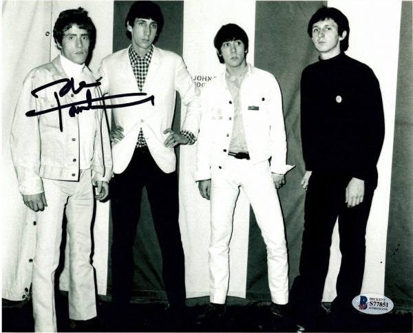 Pete Townshend autograph for sale The Who signed photo