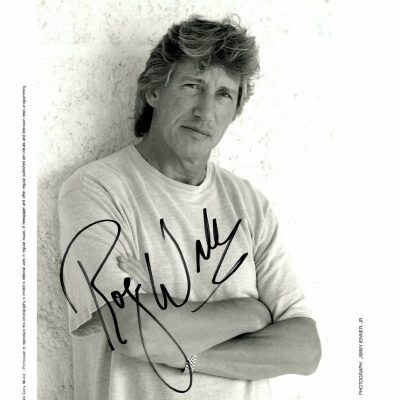 Roger Waters Autograph promo Photo Pink Floyd 2