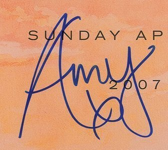 autograph of amy winehouse 1