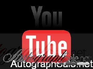 youtube music memorabilia autographs for sale