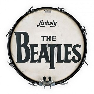 Ringo Starr The Beatle sused drum from Ed sullivan show