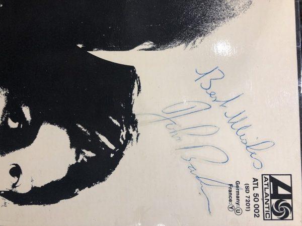 John Bonham Autographed Led Zeppelin 3 album