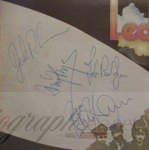 Led Zeppelin 2 autographs for sale