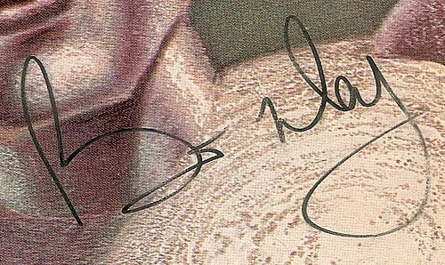 Brian May autograph 1980