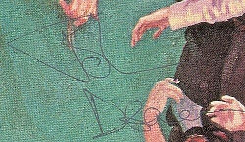 John Deacon autograph 1980