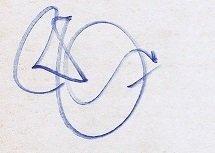 Robert Plant autographs Led Zeppelin 2012