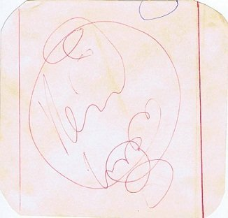 Keith Moon AutogrAPH THE WHO