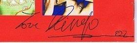 the beatles ringo starr autographs 2002