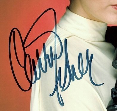 Carrie Fisher Autographs
