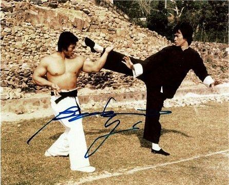 Bolo Yeung autographs 1