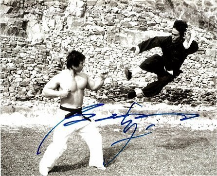 Bolo Yeung bruce lee autographs 1