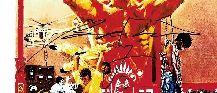 enter the dragon autographs bolo yeung bruce lee