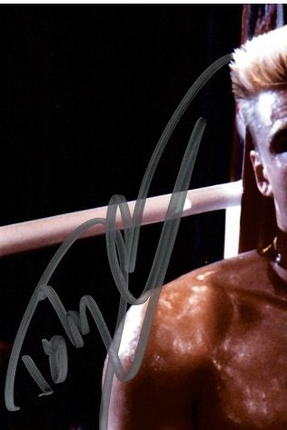 Dolph Lundgren autograph from convention