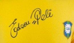 Edson Pele Autographs Brazil 1