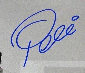 Edson Pele Signed photo 1