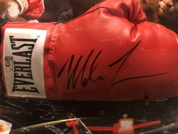 Mike Tyson signed Everlast Boxing Glove | Authentic autograph