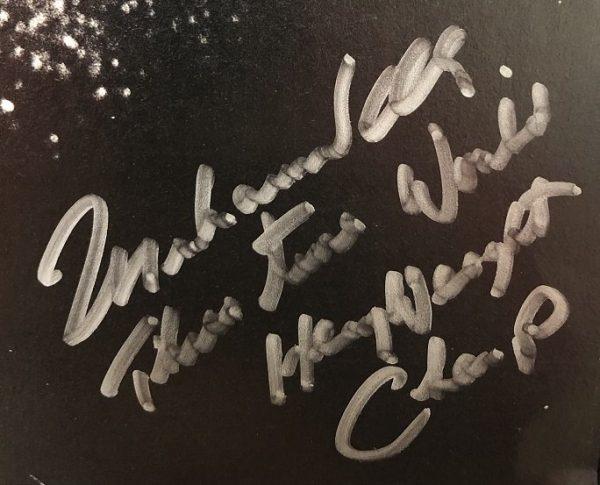 Muhammad Ali autograph for sale photo | three times world champ