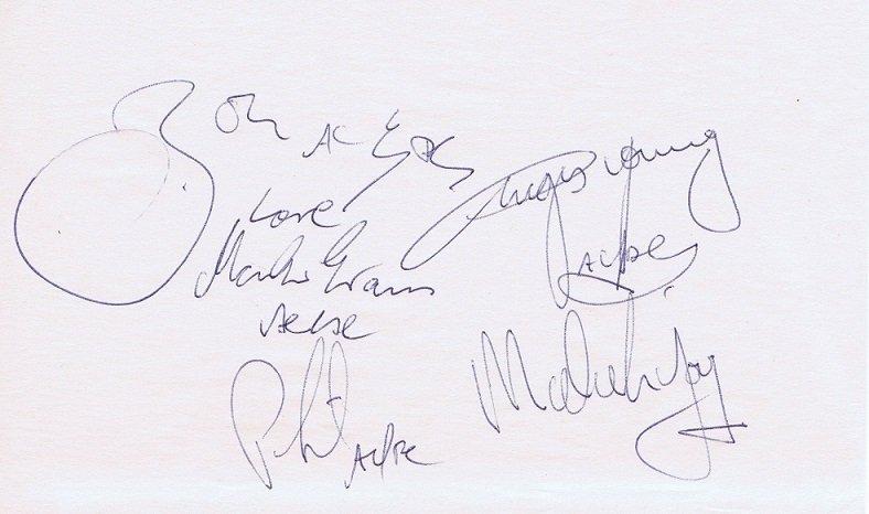 acdc bon scott autographs