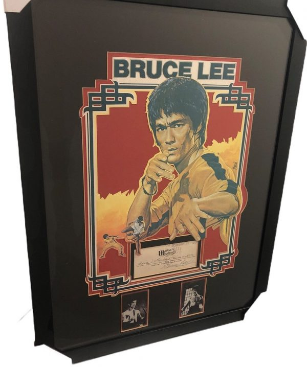 Bruce Lee autograph Cheque handwritten and signed 1972