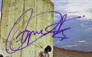 the who autographs roger daltrey