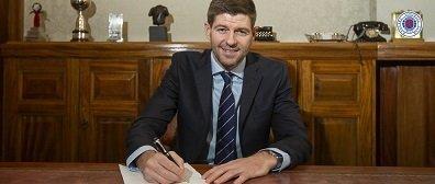 Steven Gerrard signing