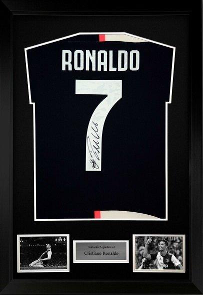 Cristiano Ronaldo autograph sports autographs and memorabilia