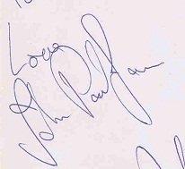 john paul jones autograph 1 led zeppelin