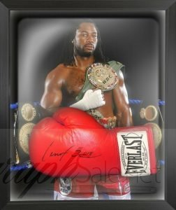 lennox lewis autograph charity auction