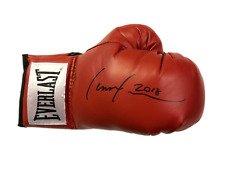 lennox lewis autographs boxing glove memorabilia Sports Autographs Memorabilia