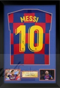 messi Charity Autograph Fundraising Auctions