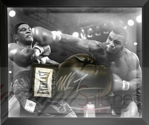 mike tyson autograph charity auction