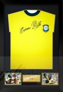 pele autograph charity auction