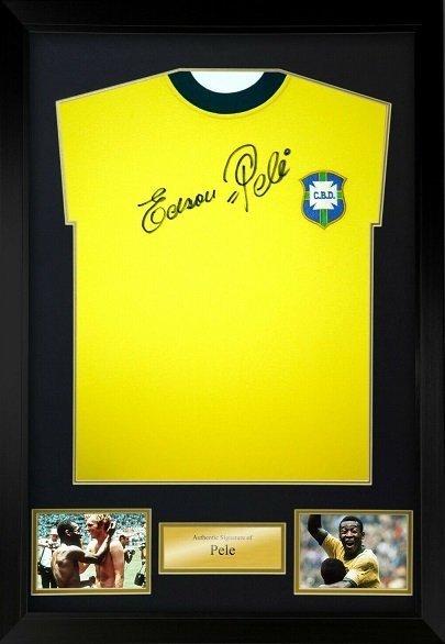 pele autograph charity auction
