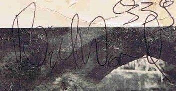 Bill Ward autographs 1969 1