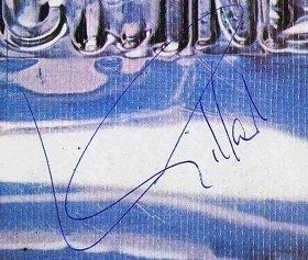 Ian Gillan Autographed Deep Purple Machine Head