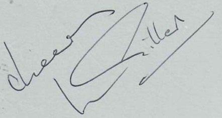 Ian Gillan Deep Purple autographs 1