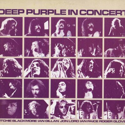 Ian Gillan signed Deep Purple In Concert Lp Autograph