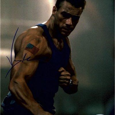 Jean Claude Van Damme Autograph for sale | Street Fighter