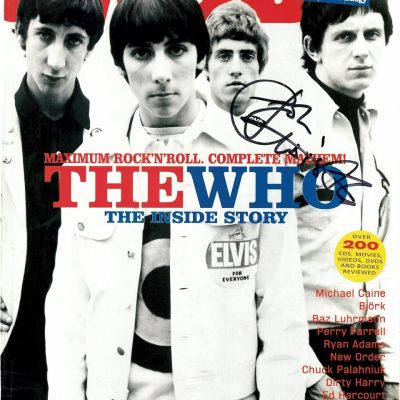 John Entwistle signed photograph magazine | The Who Autographs