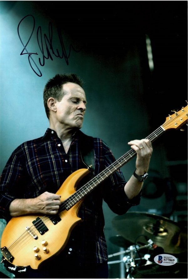 John Paul Jones autographed photo Led Zeppelin 12×8″