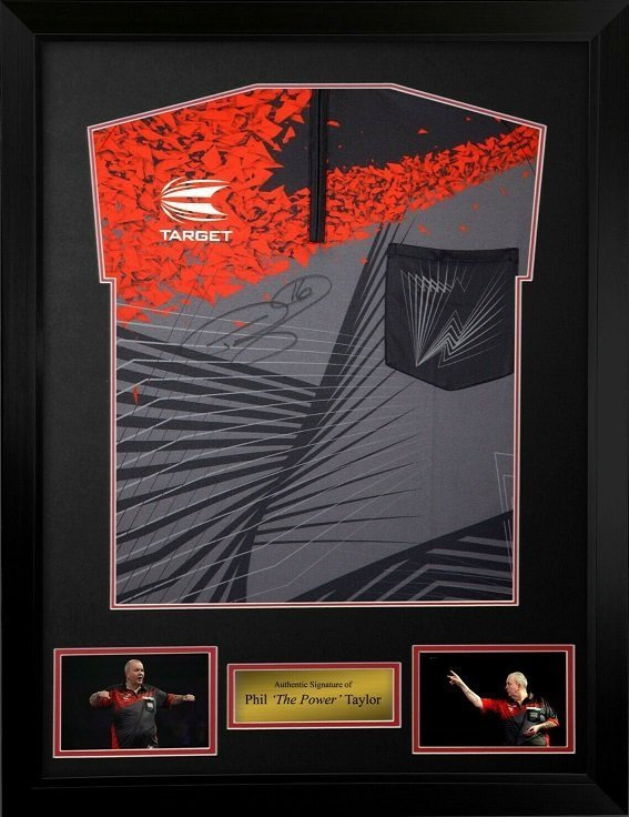 Phil Taylor The Power Autographs for sale | Signed Darts Memorabilia