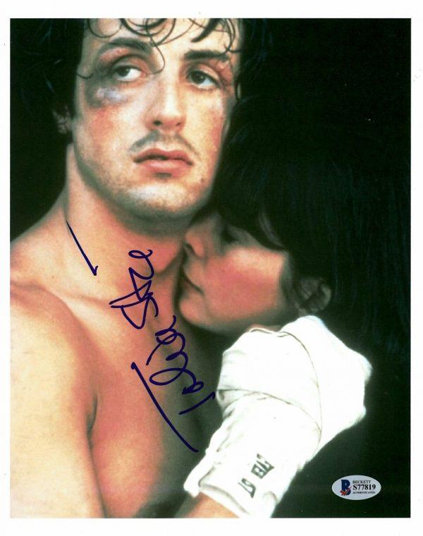 Talia Shire Autographed Rocky Balboa Photograph
