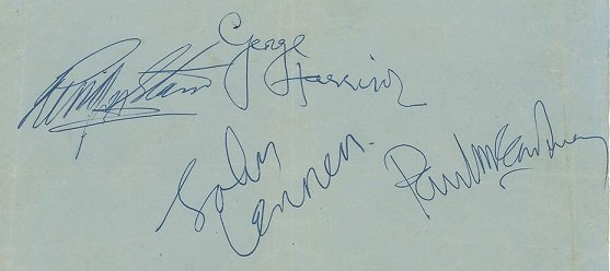 Feb 1964 signed the beatles